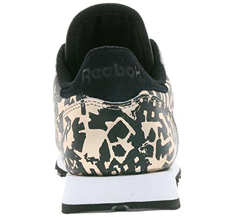 Reebok Classic Leather Hijacked Heritage Donna Sneaker Metallico Metallico