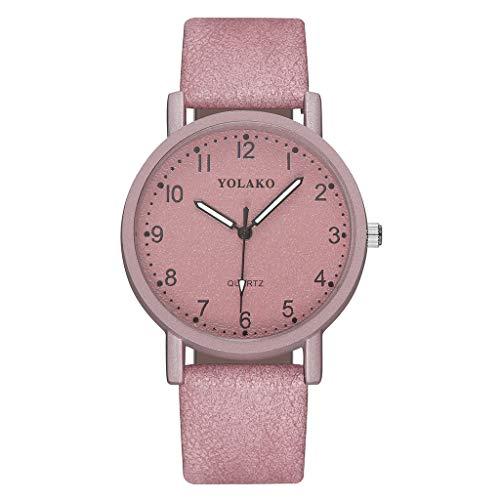 Floweworld Damen Business Uhren Mode Einfache Leder Dial Gürtel Stahl Armbanduhren Minimalism Quarzuhren -