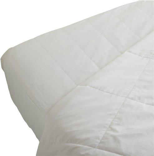 SmartSilk Bettdecke und Matratze Displayschutzfolie Set, Seide, weiß, Volle Größe (Haustier-allergie-relief)