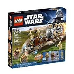 Toy / Game Lego Star Wars The Battle Of Naboo 7929 8 Battle Droids With Blasters & Transparent Energy Shield