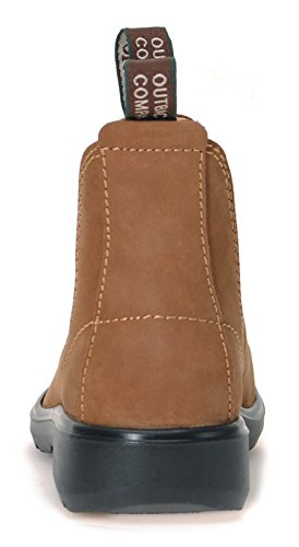 YABBIES Town & Country Chelsea Boots for Kids | Kinder Unisex Stiefelette aus Nubukleder | Loam / Lehmbraun Loam / Lehmbraun