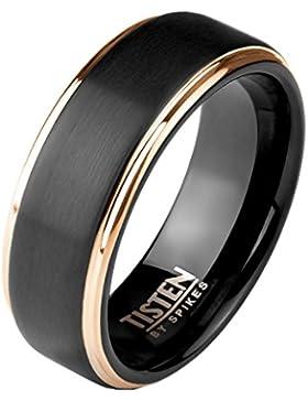 Tapsi´s Coolbodyart® Damen Herren Tungsten Titan Ring Fingerring Freundschaftsring, Verlobungsring, Ehering, Trauring...