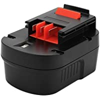 Exmate Batería de repuesto Ni-MH 12V 3500mAh para BLACK + DECKER HPB12 FSB12 FS120B FS120BX A12 A1712