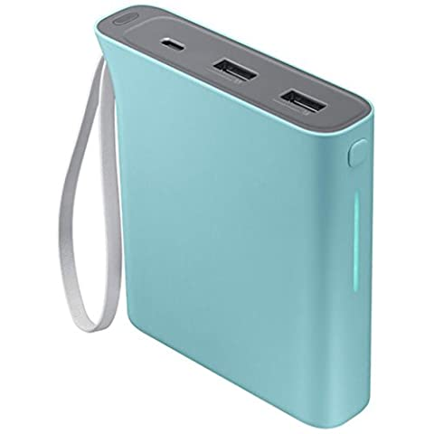 Samsung 10200 mAh Evo Rechargeable Battery Pack - Baby Blue