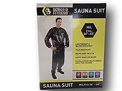 Jogging Sauna Suit Medium Get Fit for Summer
