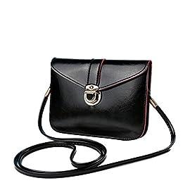 Bluester Fashion Zero Purse Bag Leather Handbag Single Shoulder Messenger Phone Bag