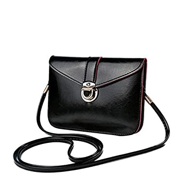Bluester Fashion Zero Purse Bag Leather Handbag Single Shoulder Messenger Phone Bag