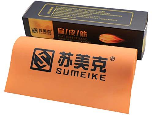 GM&BW Steinschleuder Gummi Flach-Premium-Gummi mit hoher Geschwindigkeit und Langlebigkeit, Dicke von 0,7 mm, für die Herstellung von Ersatzbändern für Metall Schleudern für die Jagd zum Fischen