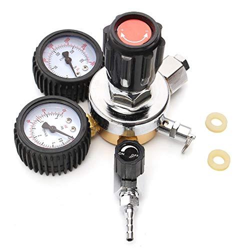 Shafts - Dual Triple Gauge Co2 System Regulator Pressure Reducer Flow Meter Valve Draft Beer Homebrew 3 16 - Dart Spinner Aluminum Big Tip For And Clubs Score Flights -