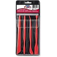 Staedtler FIMO  8711 Outils de Modélisation (Boîte avec 4 Outils)