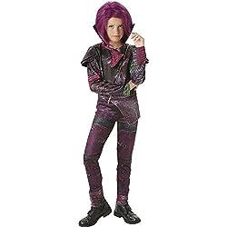 Los Descendientes - Disfraz de Mal Deluxe para niña, 5-6 años (Rubie's 620374-M)