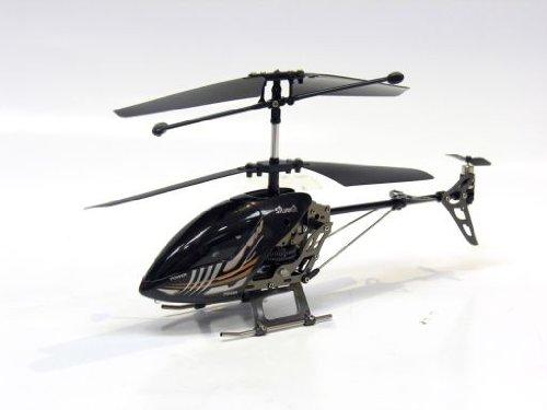 silverlit 87597 - Elicottero a 3 canali coassiali, design metallizzato, infrarossi, assortiti, colore: Nero