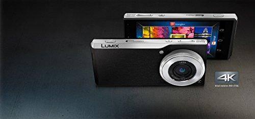 Panasonic DMC-CM1EG-S Lumix Smart Kamera (20 Megapixel, Leica DC Objektiv, Objektiv-Ring, Android 4.4, 4-Kern Prozessor 2,3 GHz, 2600mAh) schwarz/silber - 4