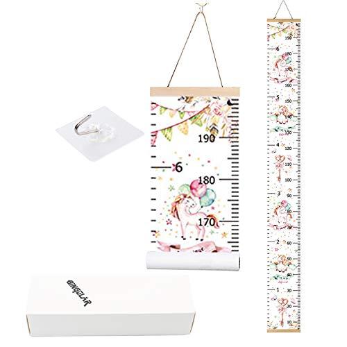 Bingolar Kinder Messlatte Wachstum Wall Chart Höhe Diagramm Art zum Aufhängen Herrscher für Kinder Schlafzimmer Kinderzimmer Wandtattoo Decor Abnehmbare Höhe und Wachstum Diagramm. (Wandtattoo-höhe-diagramm)