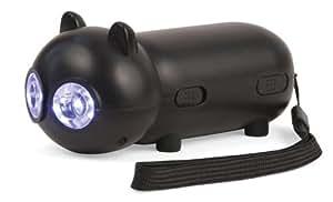 Dynamo - Taschenlampe BLACK CAT mit LED-Licht