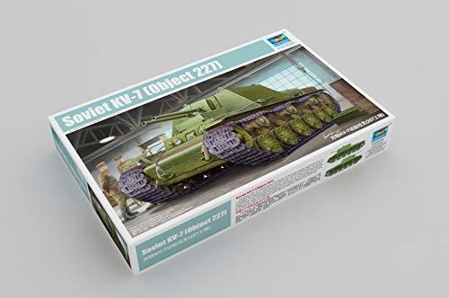 Trumpeter 09504-Modellino Soviet KV 7Object 227