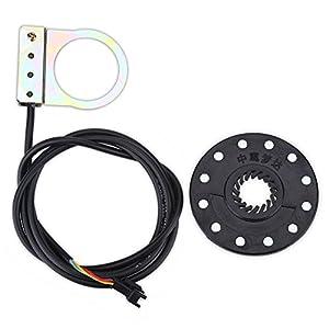 41hwBO2QDXL. SS300 Alomejor Sensore di Controllo del Pedale Bicicletta Elettrico Magneti E-Bike PAS Assistente di Sistema Sensore di velocità