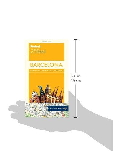 Fodor's Barcelona 25 Best (Fodors Barcelonas 25 Best)