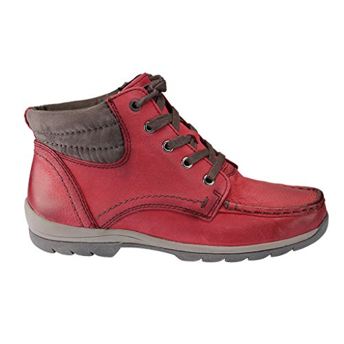 Jana Damen Bootsschuhe, 882520325, Bordeaux (549), EU rot/ pink/lila /orange