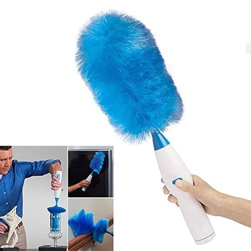 Ausziehbare elektrische Staubwedel, 360 ° Spin Duster Reinigungsbürste Dust Wand Multifunktionale waschbare Staubbürste Batteriebetrieb zur Reinigung von Auto, Klimaanlage, TV - Wand Duster