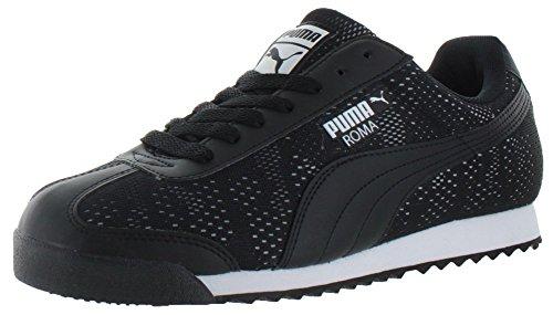 Puma Herren Sneaker Mehrfarbig Schwarz/Weiß (Ferrari Suede Sneakers)
