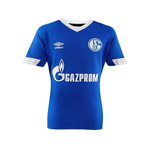 FC Schalke 04 Umbro Trikot Home 18/19 (S, blau)