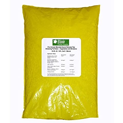 Elixir Gardens ® Vegetable & Brassica Calcium + Nitrate + Boron Granular Quick release Fertiliser