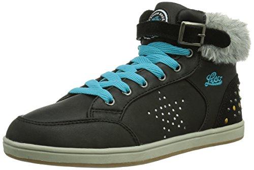Lico Key Mädchen Hohe Sneakers Schwarz (Schwarz/Türkis)