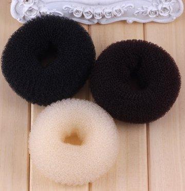 tfrdertuuigf 3Stück Haarnadel Donut Bun Maker (groß Medium klein)