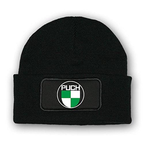 Mütze / Beenie -PUCH Logo Wappen Puch Werke Oldtimer Emblem Fan Österreich Fahrrad...