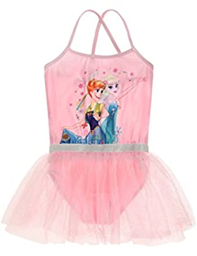 Disney Die Eiskönigin Elsa & Anna Mädchen Ballettanzug 2016 Kollektion - rosa