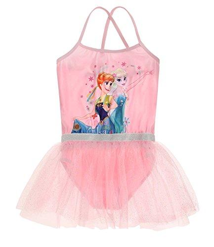 Disney Die Eiskönigin Elsa & Anna Mädchen Ballettanzug - rosa - ()
