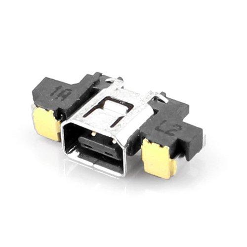 Preisvergleich Produktbild DCOLOR Power Jack Sockel Dock Ladegerät Ladeanschluss für Nintendo 3DS N3DS