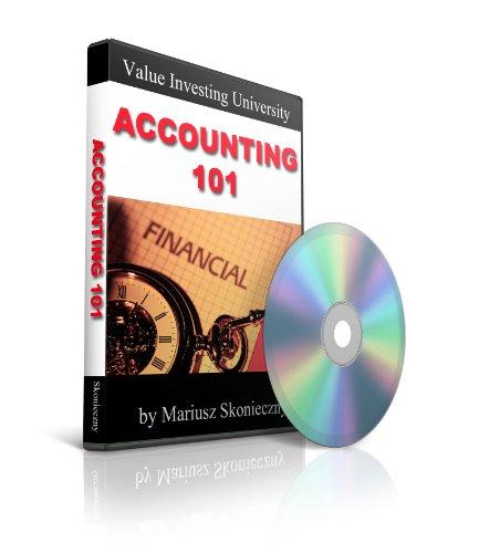 Preisvergleich Produktbild Accounting 101: Value Investing University DVD Collection,  DVD Number 6