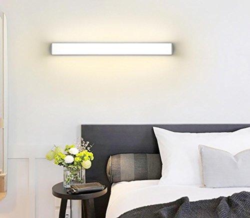 Moderne LED Spiegelleuchte 12W 16W 22W wasserdichte Wandlampe Leuchte Acryl Wand montiert Badezimmerbeleuchtung , warm light , 40cm Wand-montiert Beleuchtung