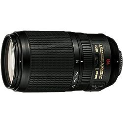 Nikon AF-S Zoom-Nikkor 70-300 mm Objectif VR 1:4,5-5,6G (Filetage 67 mm, stabilisateur d'image) (dépassement général)