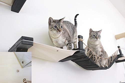 CatastrophiCreations die Katze Mod-Wandmontage Katze Brücke mit Stoff Liege für Katzen