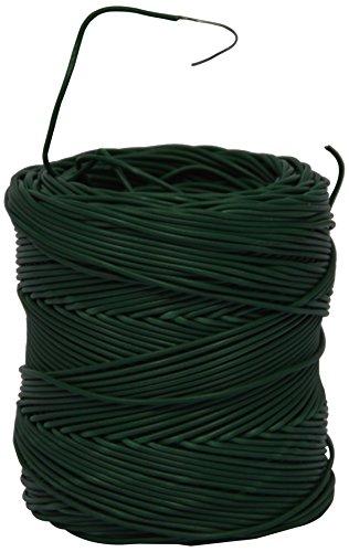 Corderie Italiane 006003175 Fil de clôture en PVC renforcé, 1,2 mm - 170 m, Vert