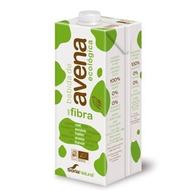 3 litros de leche de avena Soria Natural (3x1L) por sólo 1,99€
