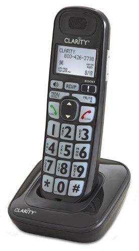 Clarity D703 Cordless Landline Phone (Black)