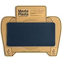 Mastaplasta - Parche de reparación de Piel Diseño: Liso, Azul Marino, de 20 x 10cm.