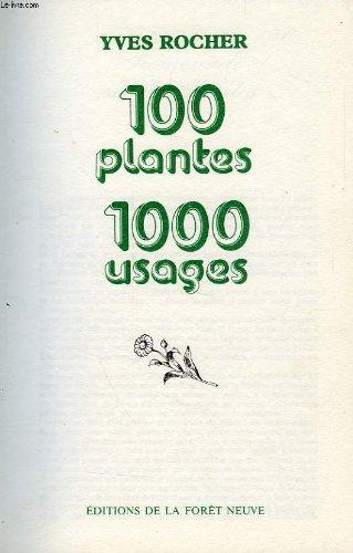 Cent plantes, mille usages