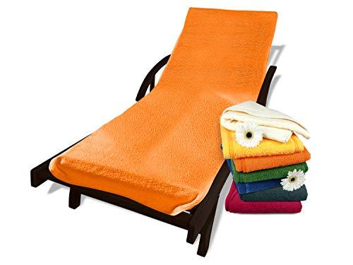Schonbezug mit Kapuze aus dem Hause Dyckhoff - erhältlich in 7 sommerlichen Farben für Gartenstuhl...