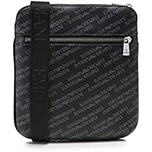 Emporio Armani Armani Jeans Textured Homme Cross Body Bag Noir eEYGH