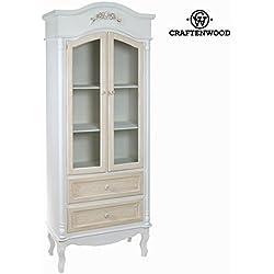 Vitrina con dos puertas - Colección Spring by Craften Wood