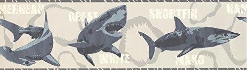 Sharks Tapete Bordüre 2719BT