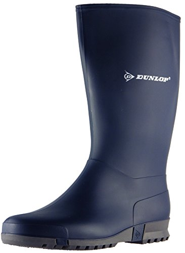 Dunlop Womens Sports Blue PVC Wellington Boots 2 UK