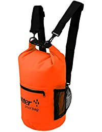 MagiDeal 6 Colors 10L 20L Outdoor Swimming Roll Top Waterproof Dry Bag Camping Boat Rafting Storage Backpack With...
