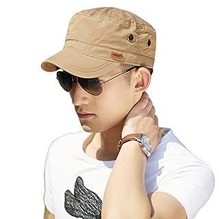 SIGGI Herren Military Army Cap Sonnen Wandern Sport Baseballcap,68033_Kambel,61-63cm