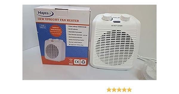 Arctic Hayes 2kW Upright Fan Heater